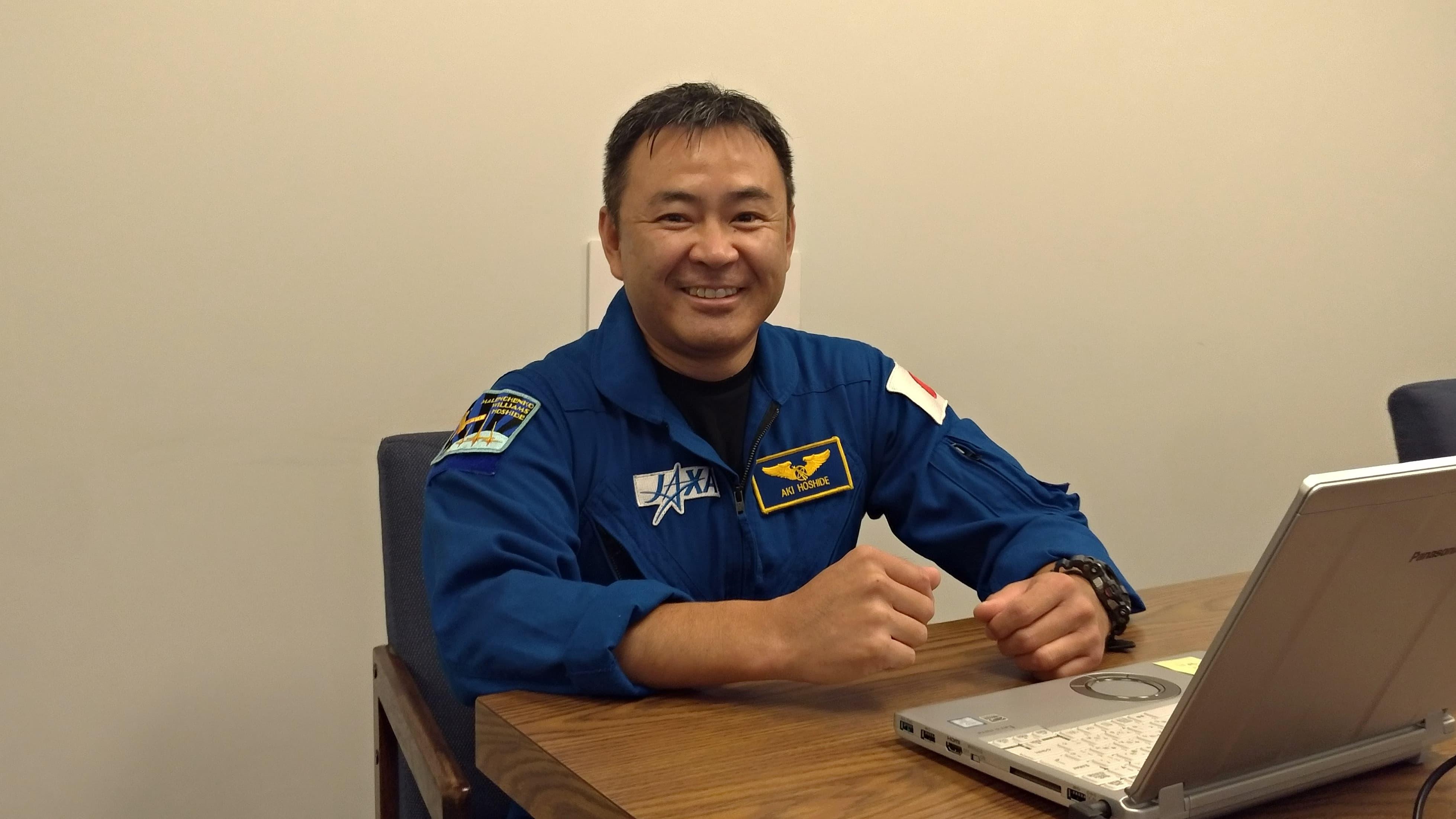 星出彰彦宇宙飛行士が3回目のミッションへ  ー中高生へメッセージー
