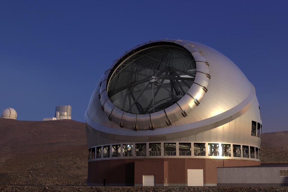 次世代型望遠鏡TMT!