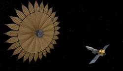 折り紙が宇宙へ!―宇宙に咲く「ひまわり」